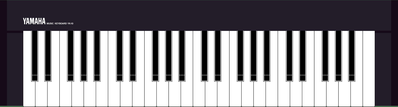 Yamaha YK10 MSX keyboard