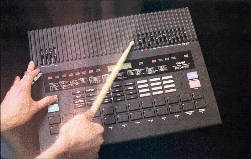 How not to play a drum machine