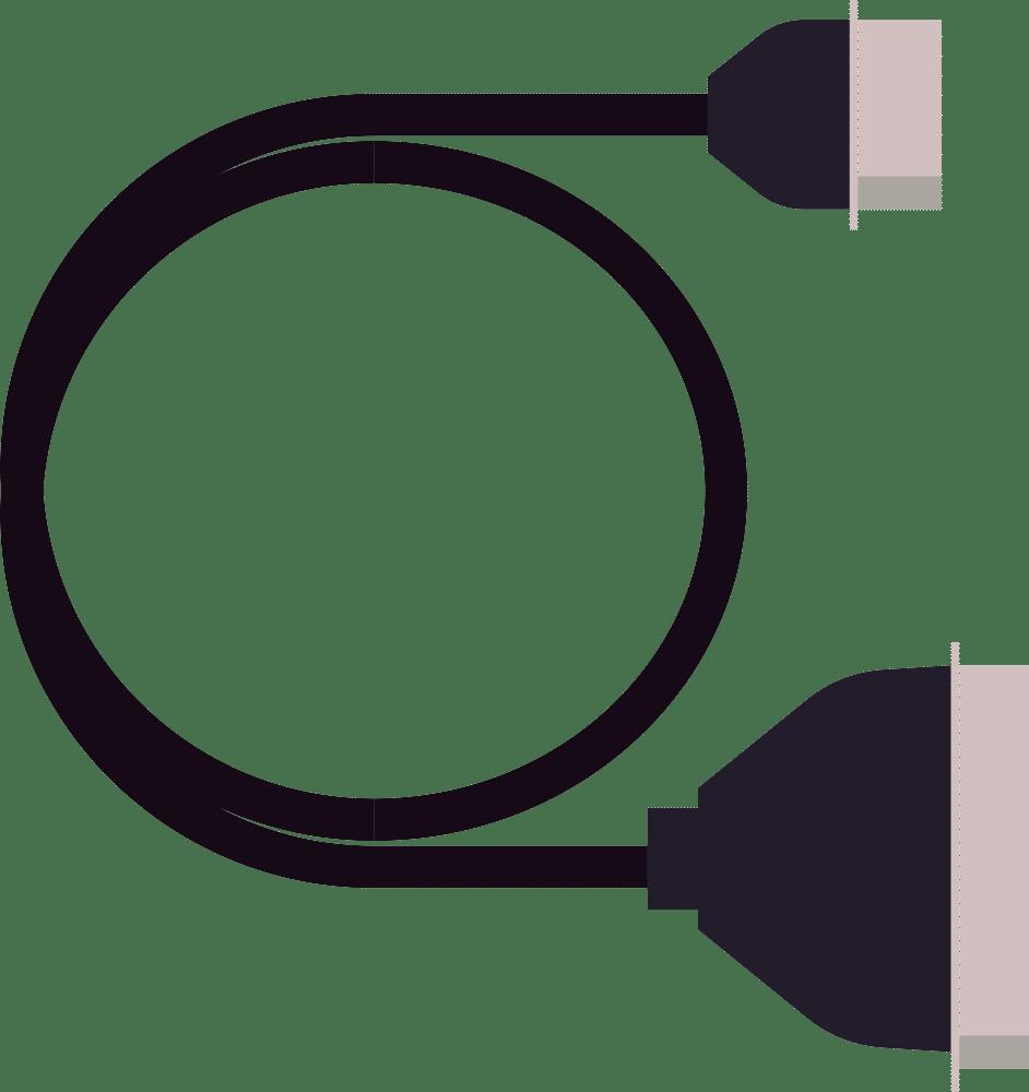 Yamaha CB01 MSX printer cable