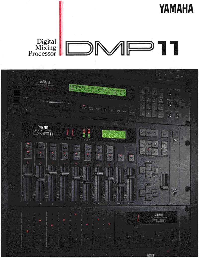 Yamaha DMP11 mixer brochure