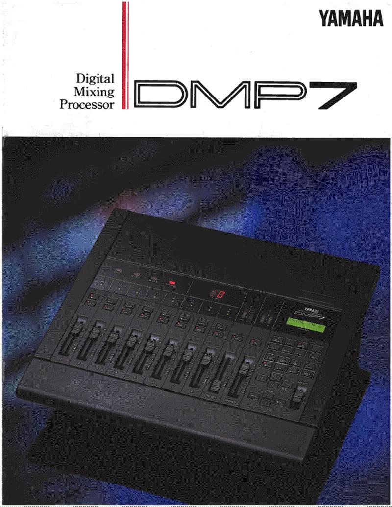 Yamaha DMP7 mixer brochure