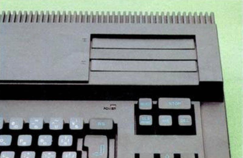 Top double cartridge slot