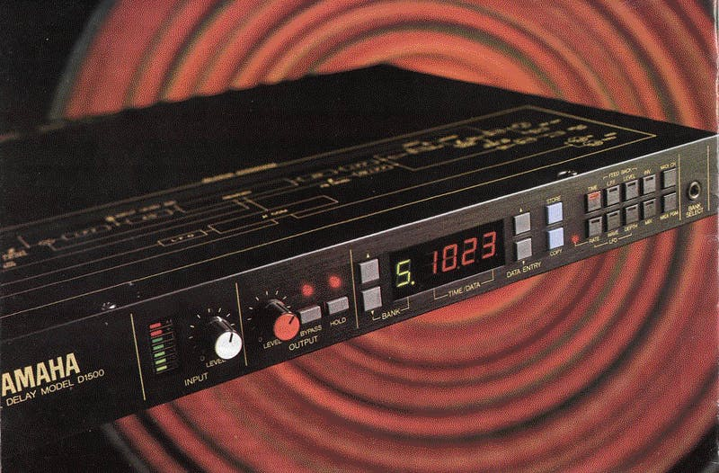 Yamaha D1500 on Sound On Sound Dec 1985