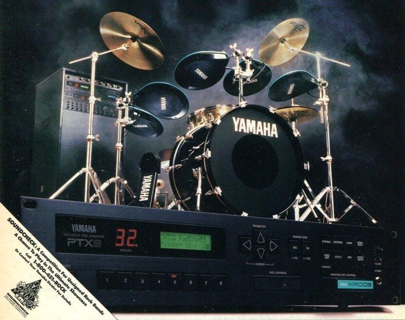 Yamaha D8 system advertisement