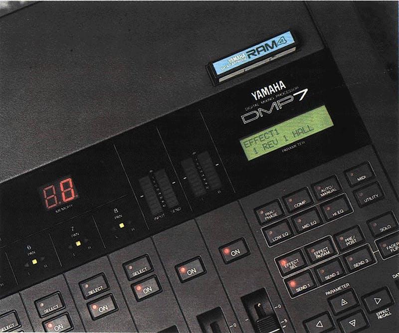 DMP7 on Sound On Sound, Jul 1987