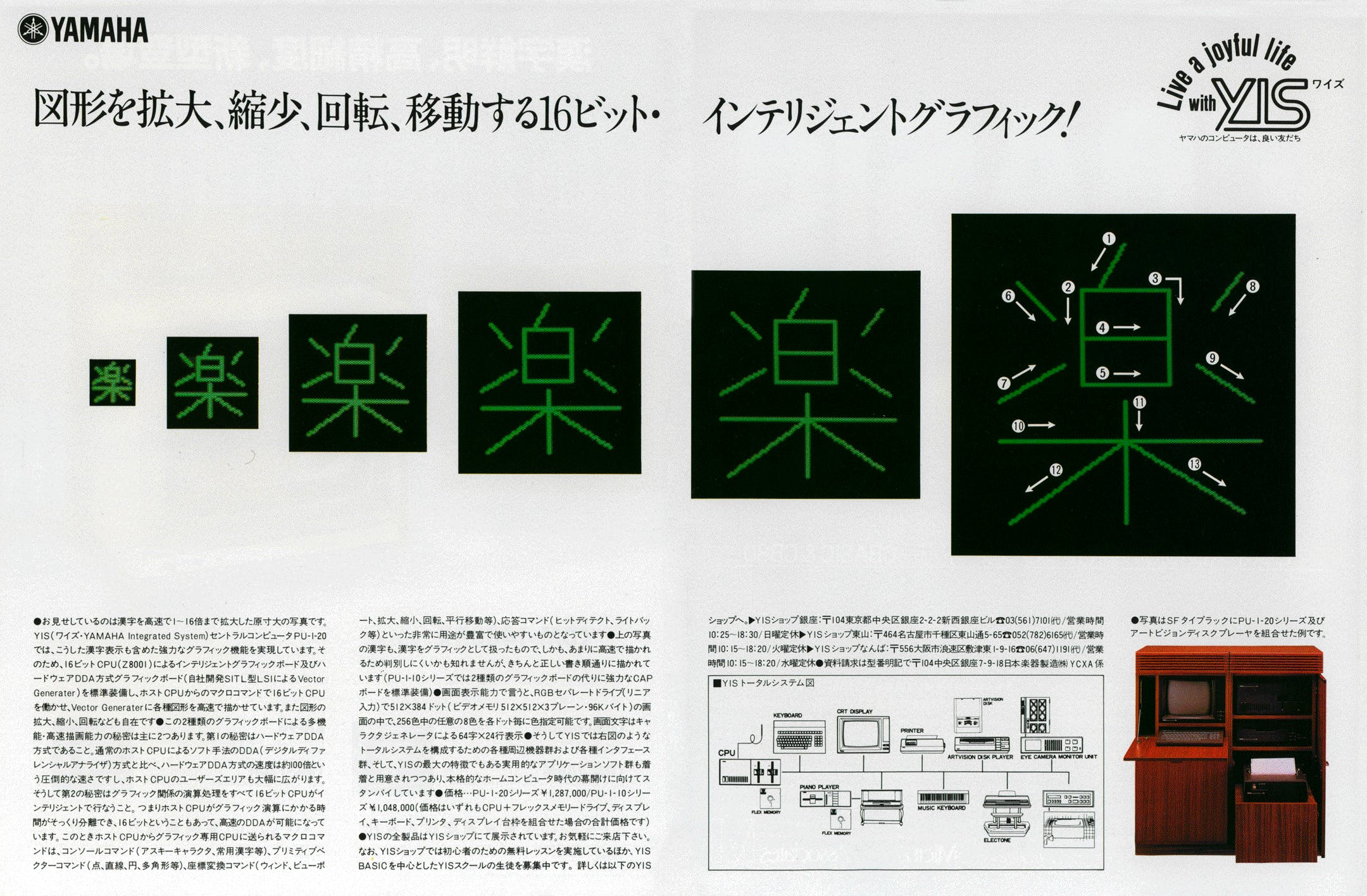 Yamaha YIS advertisement ASCII japan 4 1982
