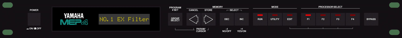 Yamaha MEP4 midi patch rack