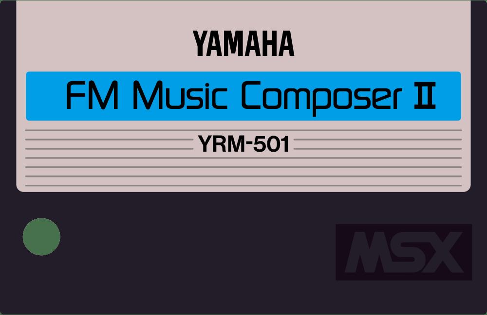 Yamaha YRM5 YRM501 MSX cartridge