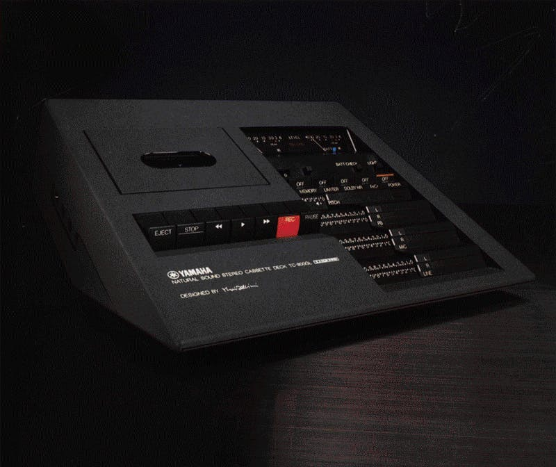 Yamaha TC-800GL brochure cover