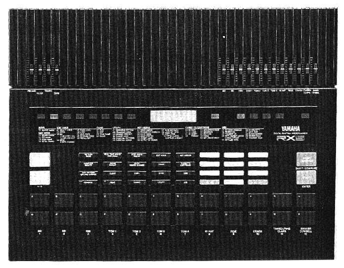 Yamaha RX5 drum machine.