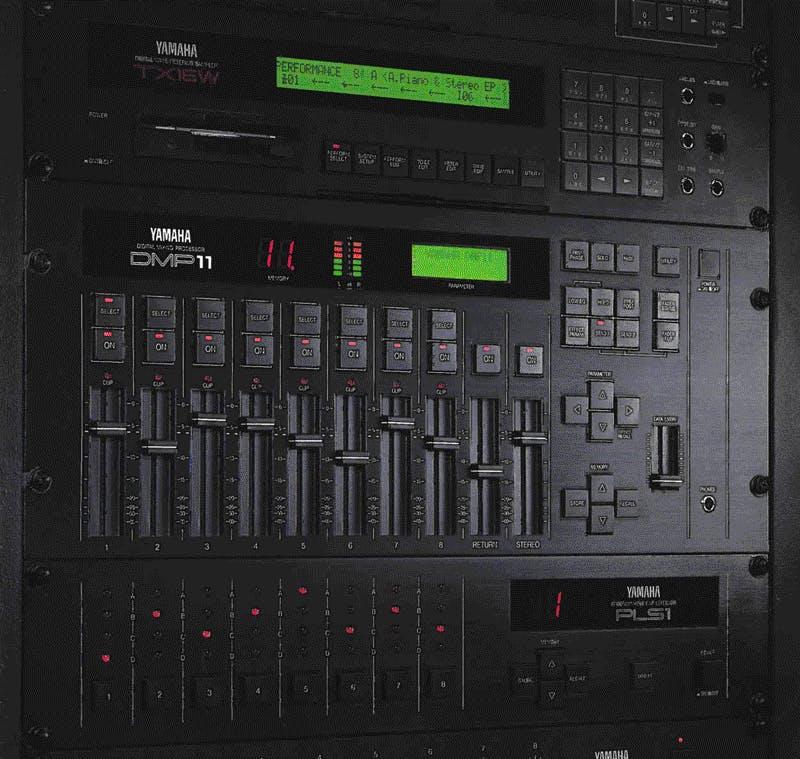 Yamaha DMP11 brochure cover