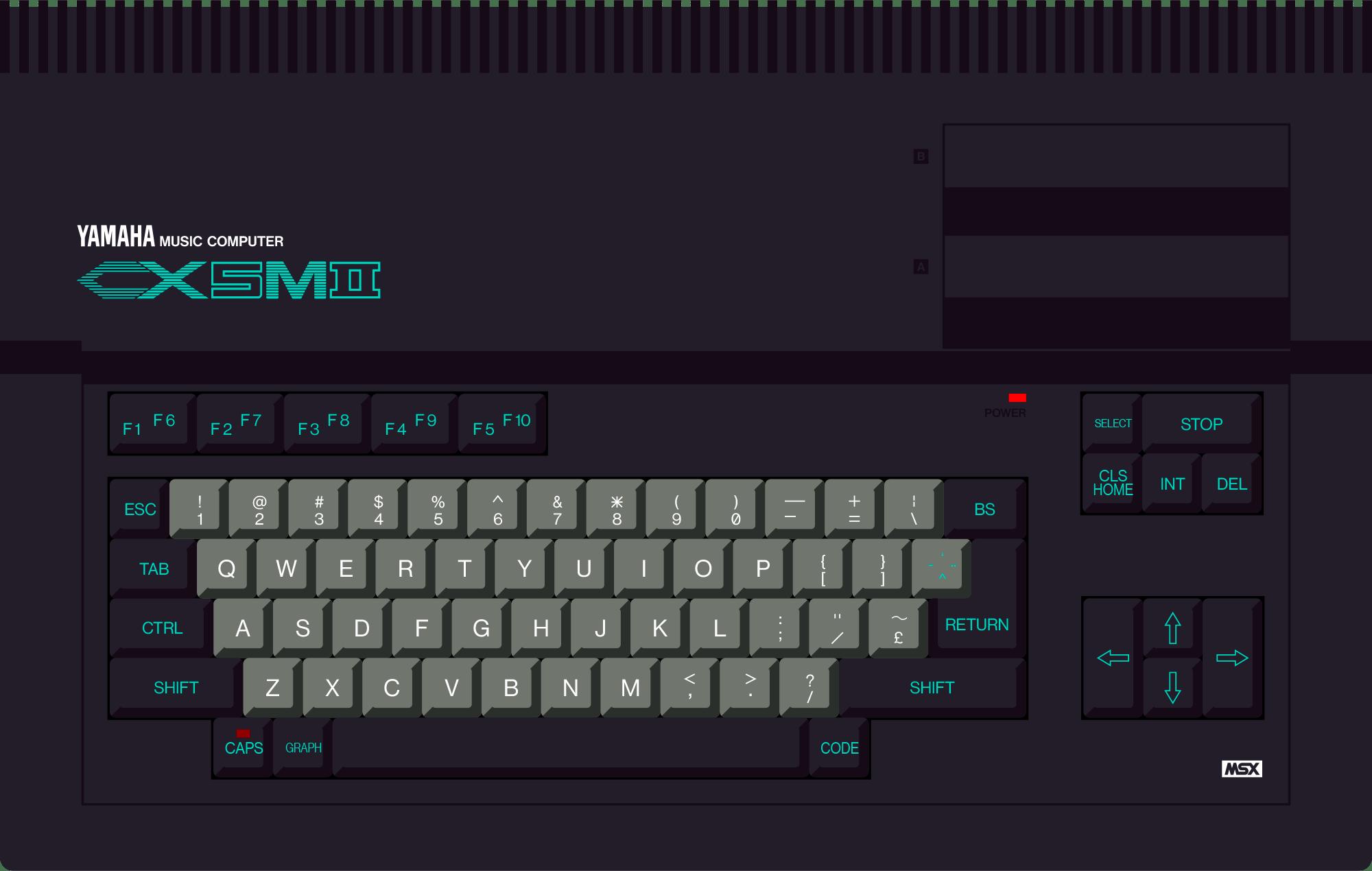 Yamaha CX5M II