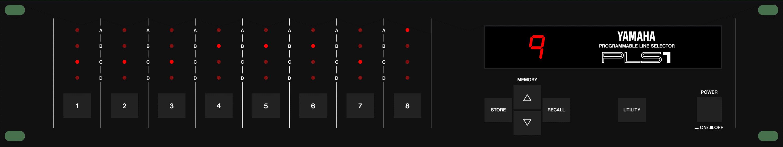 Yamaha PLS line selector