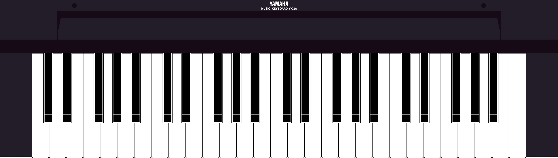 Yamaha YK20 MSX keyboard