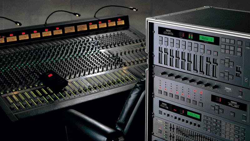 DMP11 and other mixing equipment (source: Yamaha)