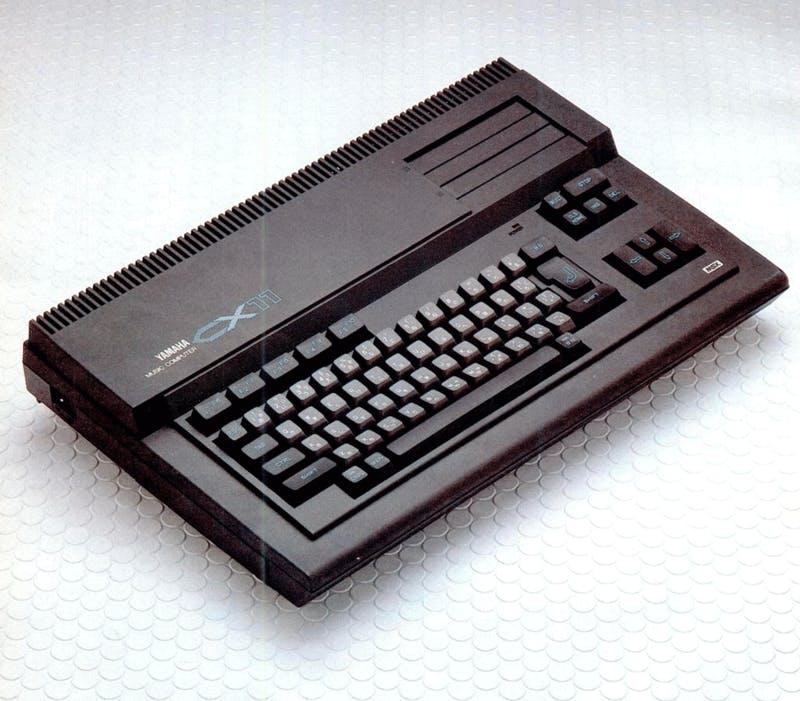 Yamaha CX11 on MSX Magazine