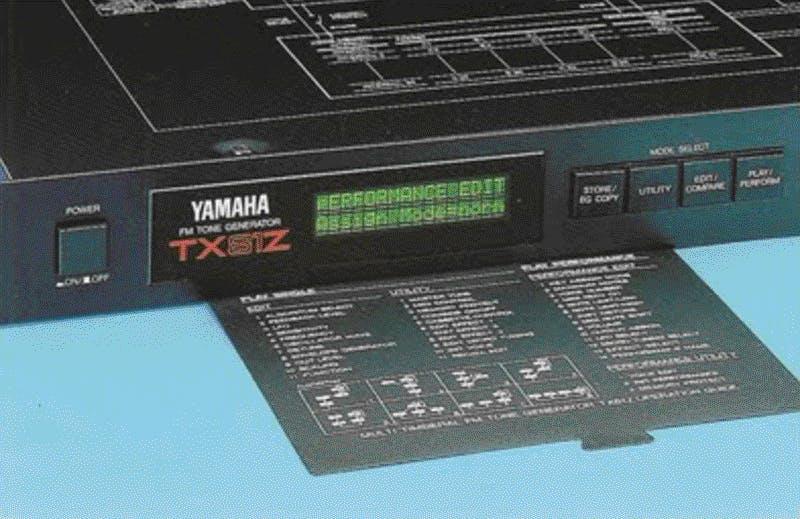 Yamaha TX81Z brochure