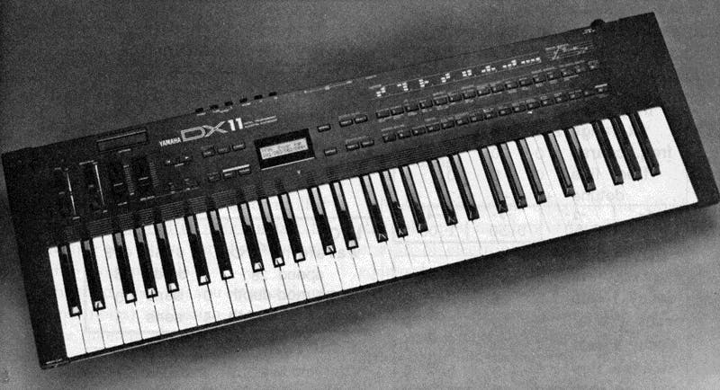 Yamaha DX11 on After Touch