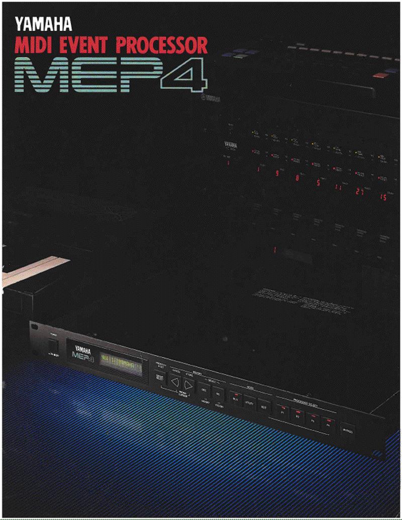 Yamaha MEP4 brochure