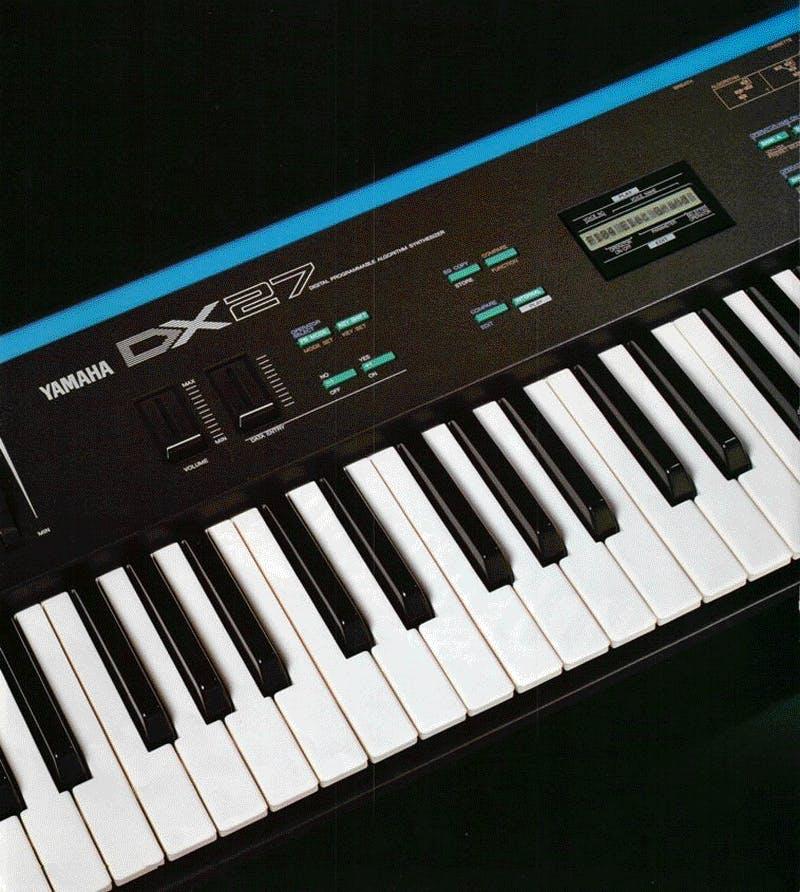Yamaha DX27 brochure