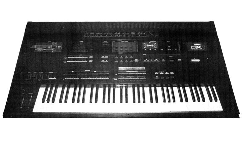 DX1 prototype (Electronics & Music Maker, Oct 1983)