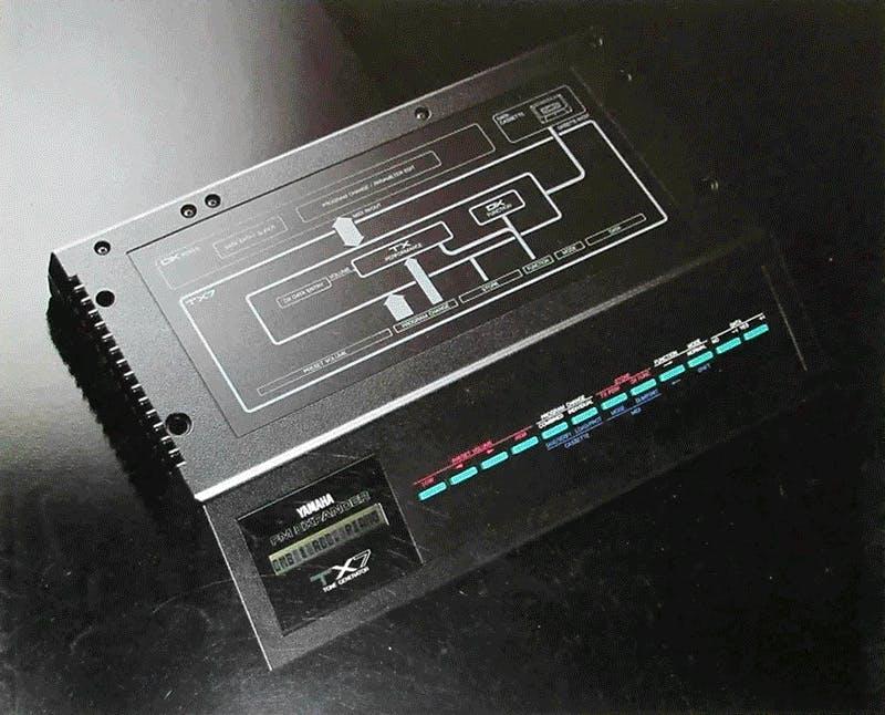 Yamaha TX7 brochure