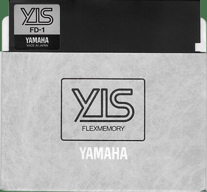 Yamaha Computer YIS System floppy disk