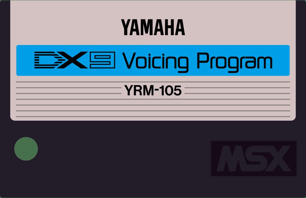 Yamaha YRM105 YRM14 MSX cartridge