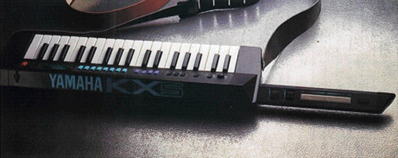 Yamaha KX5 advertisement
