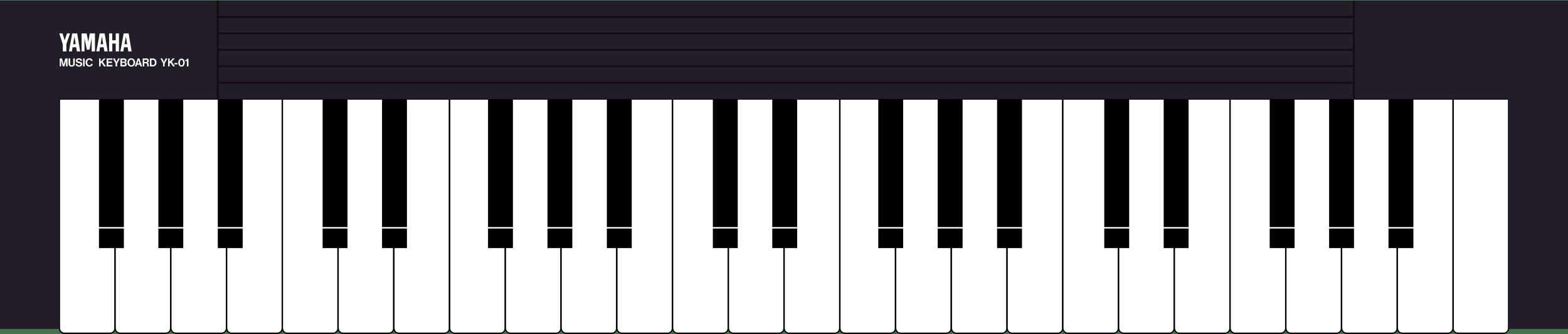 Yamaha YK01 MSX keyboard