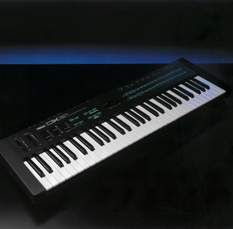 Yamaha DX21 brochure