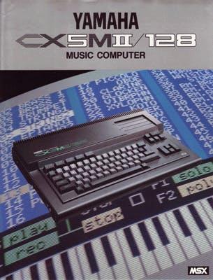 Yamaha CX5MII/128 flyer