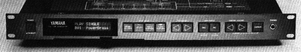 The Yamaha TX81Z FM tone generator.