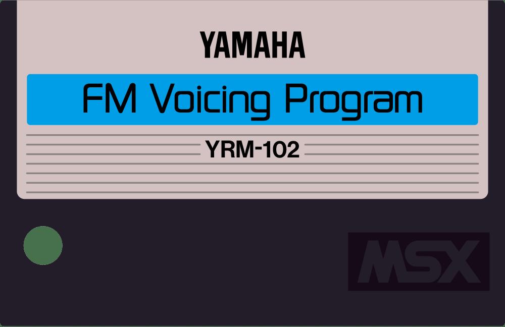 Yamaha MSX YRM 102 12 FM music composer