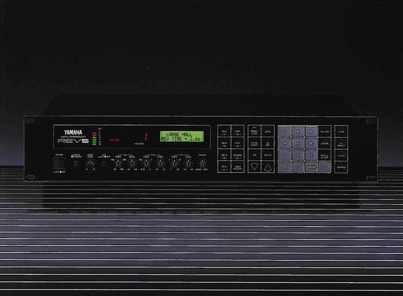 Yamaha REV5 brochure cover