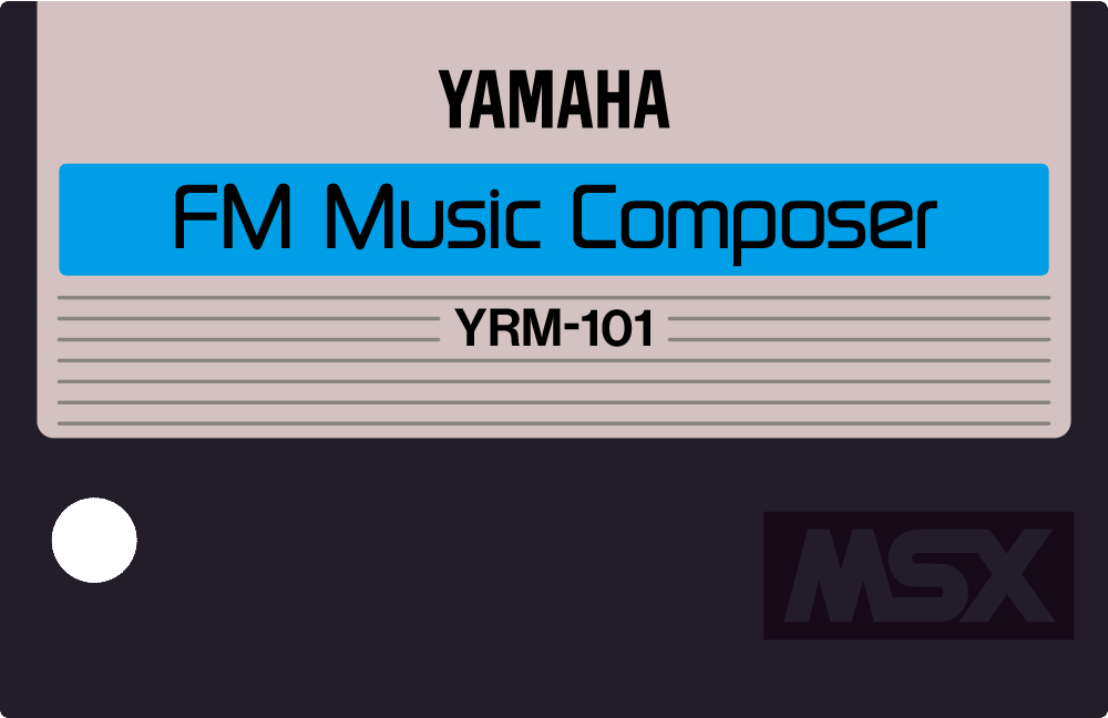 Yamaha MSX YRM 101 15 FM music composer