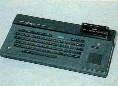 Yamaha CX5 prototype