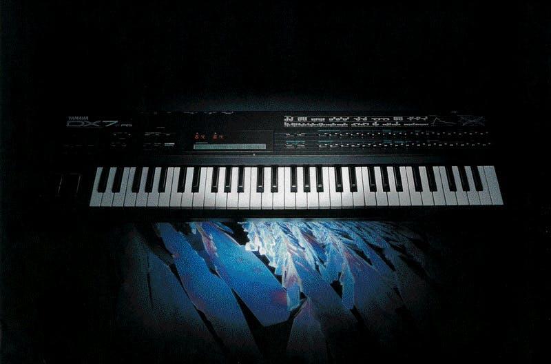Yamaha DX7II brochure