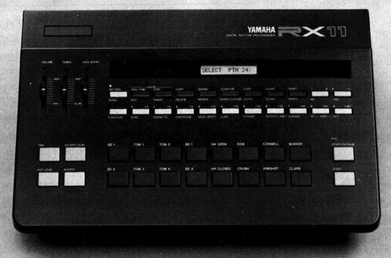Yamaha RX11 from After Touch