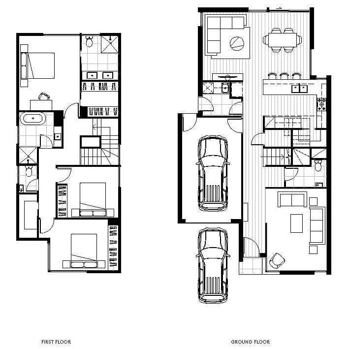 3 Bedroom, 3 Bathroom, 2 Carpark
