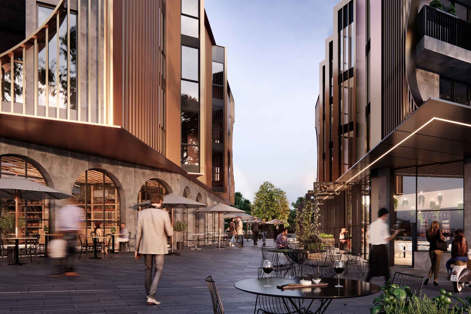 Artist's impression of Artisan Food District