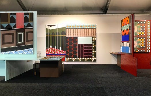 The inaugural YarraBend stand prize at Melbourne Art Fair