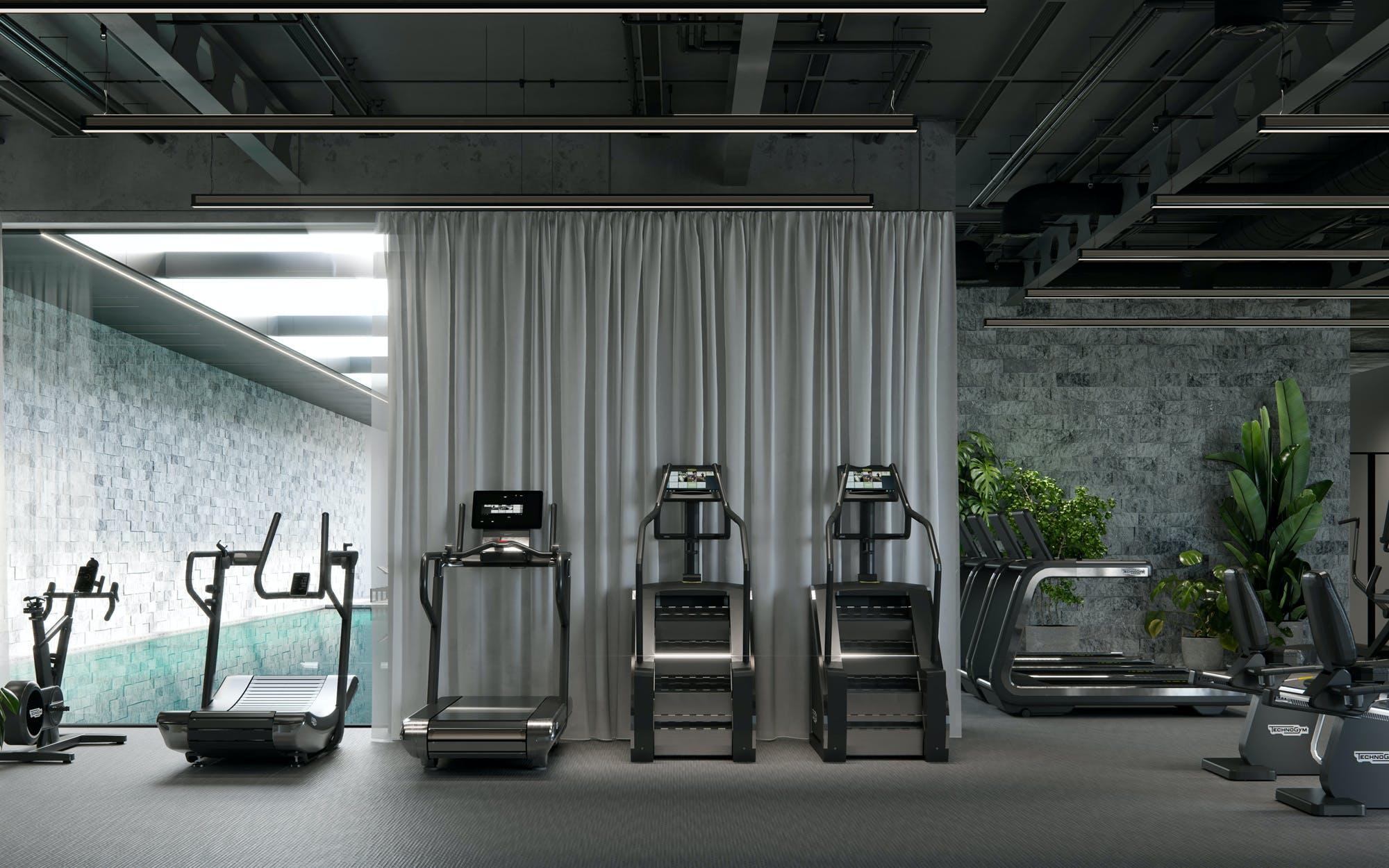World class gym equipment