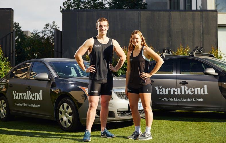 YarraBend's newest ambassadors – Hannah Scott and Logan Dutton
