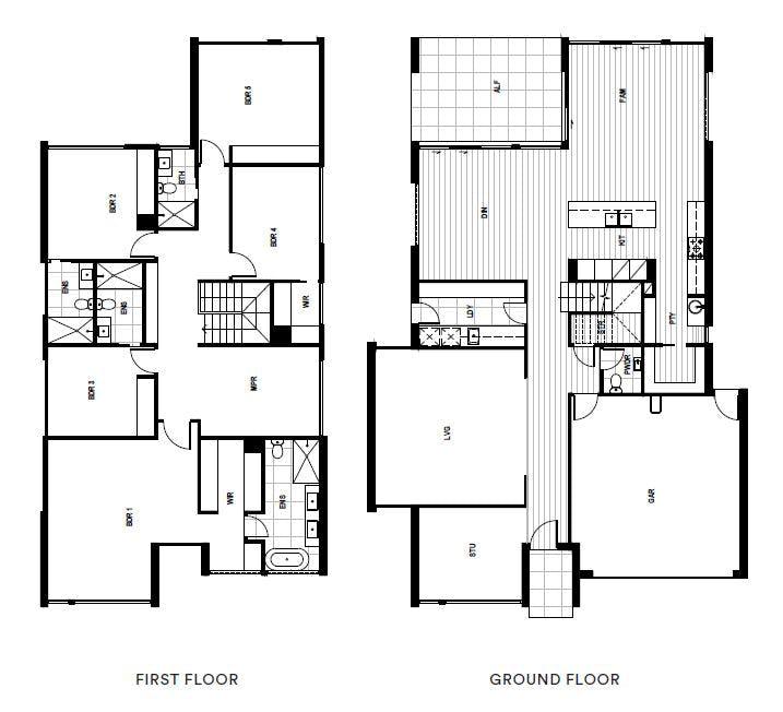 5 Bedroom, 4 Bathroom, 2 Carpark