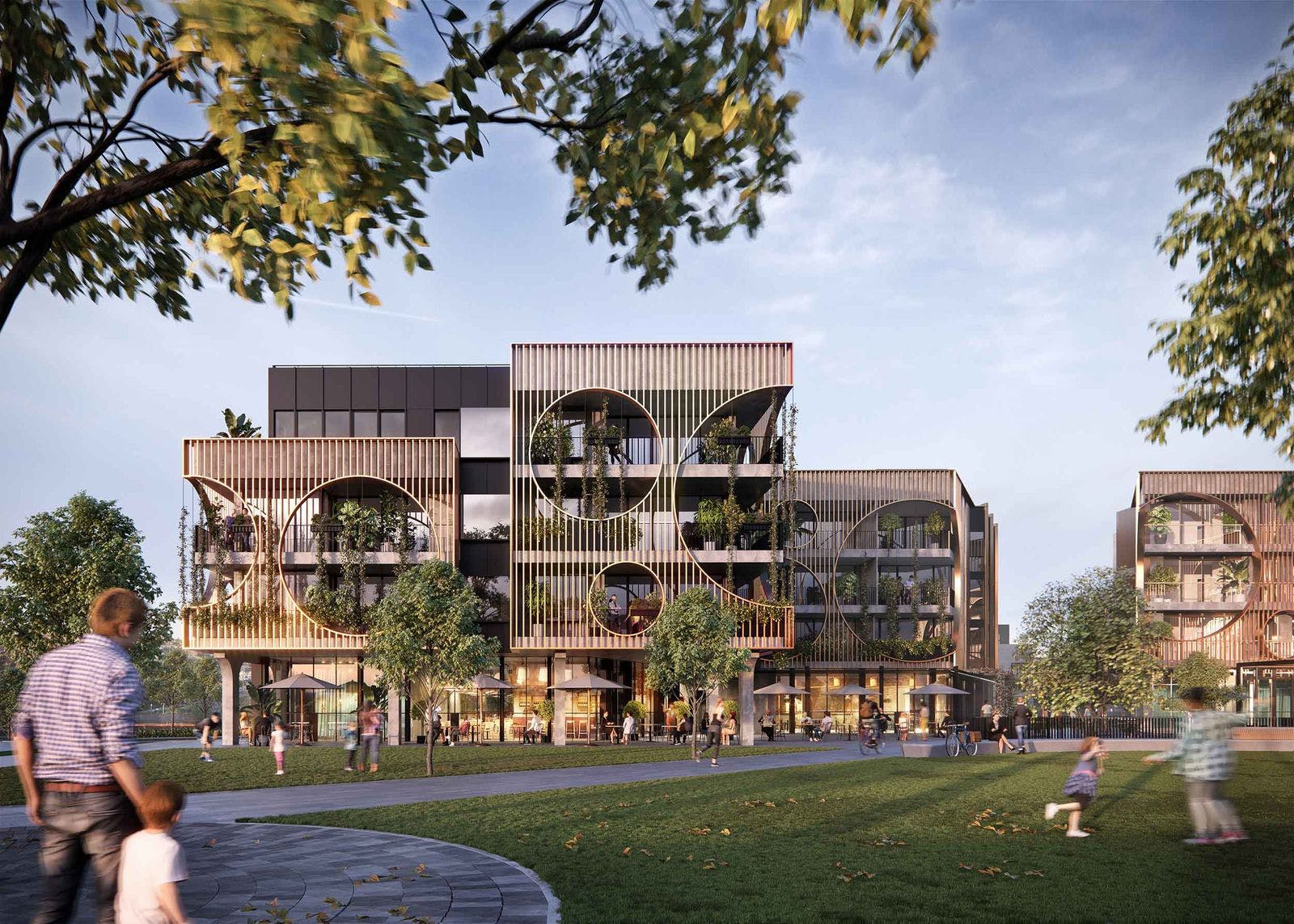 Artists impression of the Artisan Residences