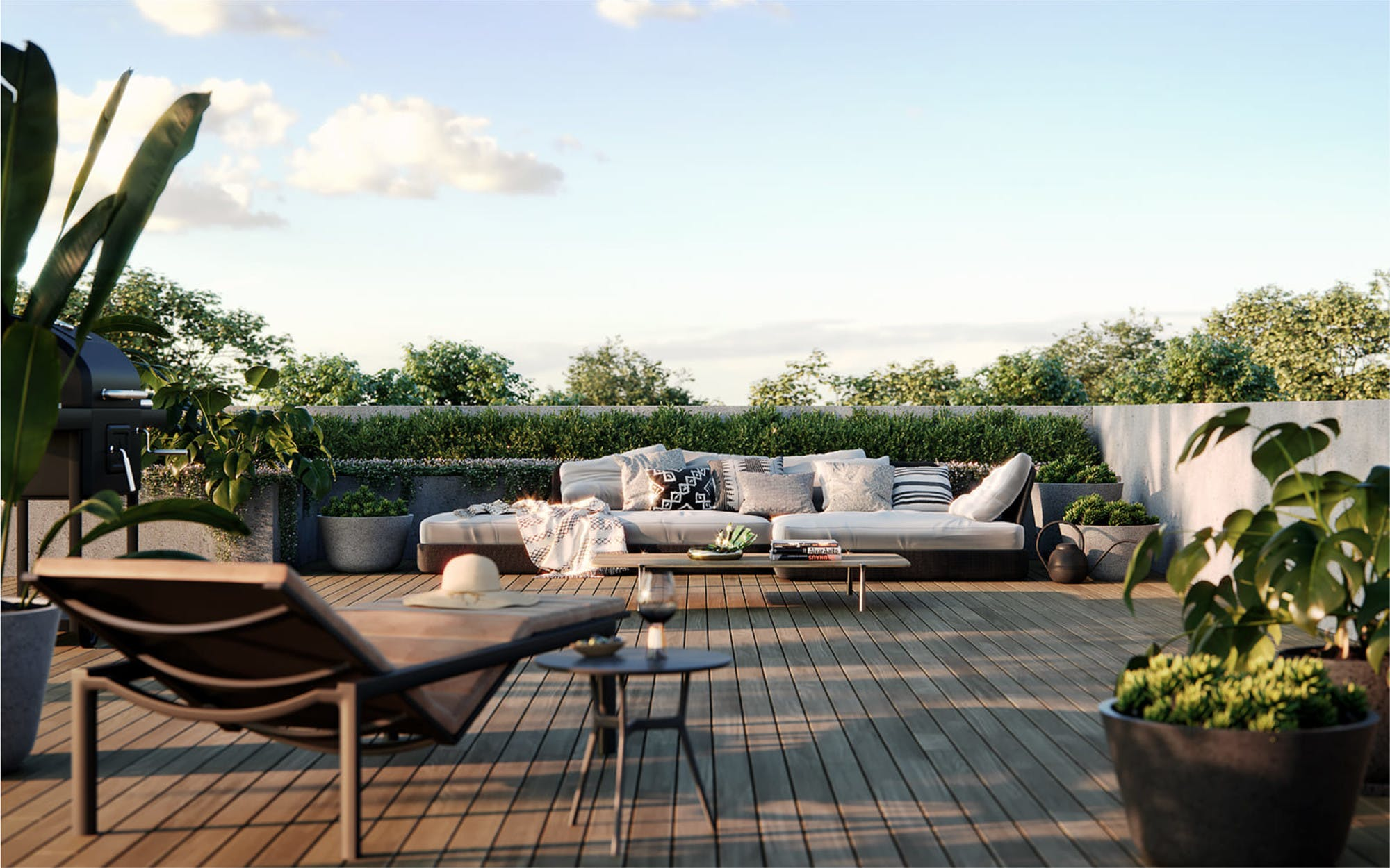 Rooftop | YarraBend: Off the Plan Townhouses, Apartments & Property Melbourne