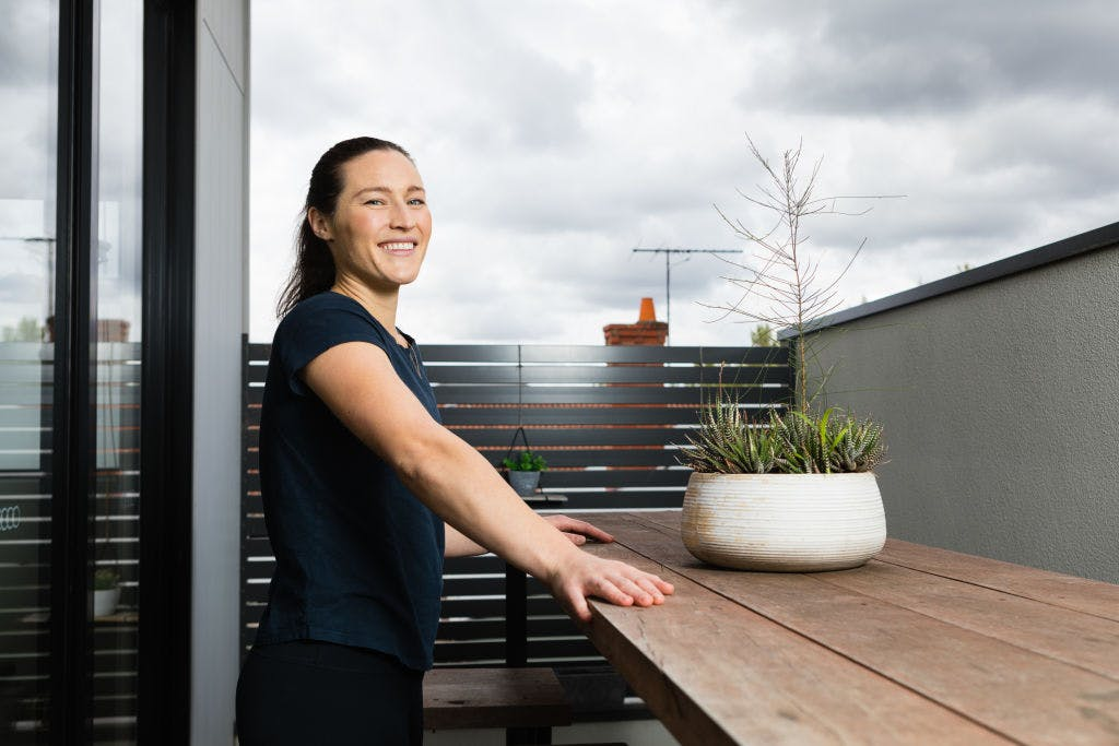 Ashlee Harrison has rented in Alphington for two years. Photo: Greg Briggs