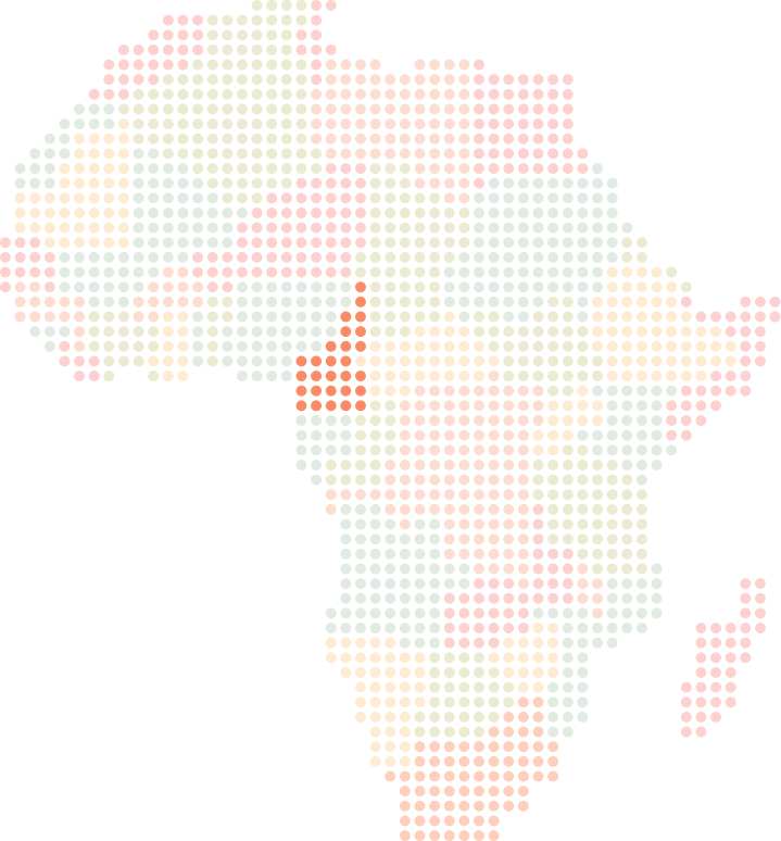 Cameroon location on map of Africa, Yellow Card