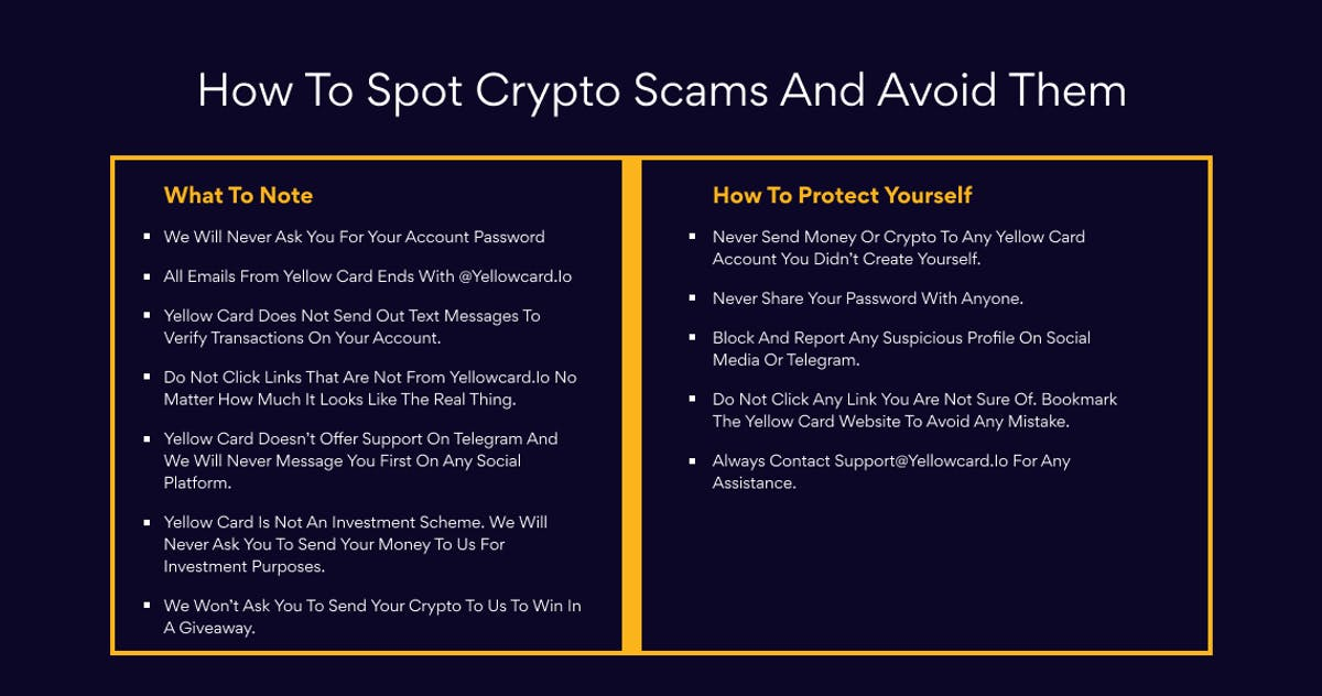 How to spot and avoid crypto scams online